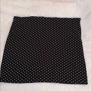 3/$20 ❤️ Black Polka Dot Mini Skirt